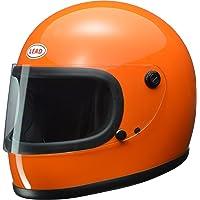 リード工業(LEAD) バイクヘルメット フルフェイス RX-200R オレンジ フリーサイズ (57-60cm未満…