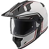 ヤマハ(YAMAHA) バイクヘルメット オフロード YX-6 ZENITHグラフィックモデル GF-03レッド Lサイズ(59-60cm) 90791-1789L