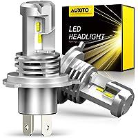 【業界初モデル正規品】AUXITO H4 Hi/Lo LEDヘッドライト 車用 新基準車検対応 ZES LEDチップ搭載…