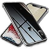 【ONES】 iPhoneXsMax ケース 高透明 耐衝撃 超軍用規格 『エアバッグ、半密閉音室、Qi充電』〔滑り止め、すり傷防止、柔軟〕〔美しい、光沢感、軽·薄〕 衝撃吸収 HQ·TPU クリア カバー