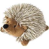 ペットおもちゃ Pawaboo 犬おもちゃ ハリネズミ型 噛むおもちゃ 発声装置搭載 ぬいぐるみ 歯ぎしり 清潔 安全 トレーニング ストレス解消 運動不足 1個 Brown(小型犬・中型犬に適応)