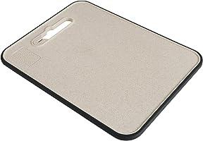 砧板 抗菌砧板 天然麦秆 (612g) 多功能砧板 (防漏水&防漏器&过滤) 常用尺寸:37.5 *28.5cm *1cm 家用多功能砧板 适用于烹饪料理的砧板 送给老板