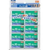 10 pieces No. 10 No.10-1M Max staples (japan import)