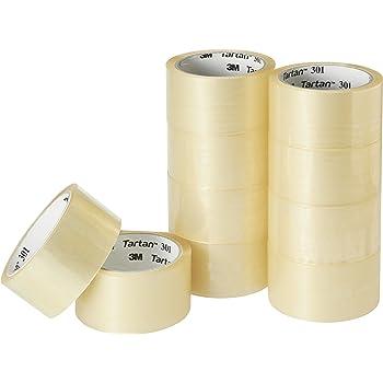 3M タータン 10巻入り 透明梱包テープ 301T-4849-10R