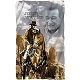 Riding - John Wayne - Fleece Throw Blanket