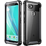 Google Pixel 2 XL case, i-Blason [Ares] Full-body Rugged Clear Bumper Case with Built-in Screen Protector for Google Pixel 2