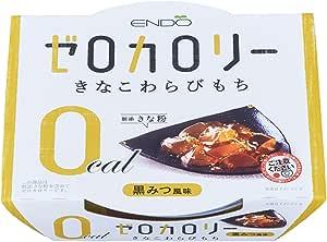遠藤製餡 Nゼロカロリーきなこわらびもち 108g×6個