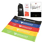 INMAKER Resistance Loop Bands Set, Heavy Exercise Bands for Legs, Set of 5, Fitness Bands for Physical Therapy, 2...
