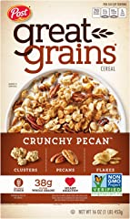 Post Selects Great Grains Crunchy Pecans Whole Grain Cereal, 453g