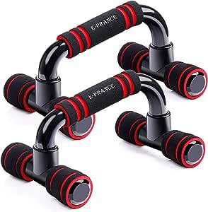 E-PRANCE プッシュアップバー 腕立て伏せ 器具 トレーニング 筋力アップ 筋トレ 肉体改造