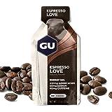 GU Energy Original Sports Nutrition Energy Gel, Espresso Love, 24 Count Box