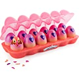 HATCHIMALS 6044978 CollEGGtibles Neon Nightglow 12-Pack Egg Carton with Season 4 Hatchimals CollEGGtibles, for Ages 5 and Up