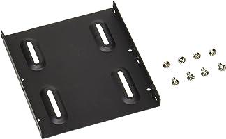 Owltech 2.5寸硬盘 / SSD → 3.5寸尺寸带螺丝转换支架套装 , 黑