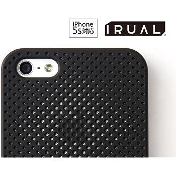 iPhone 5s / 5 ケース カバー | Minimal Skin Case for iPhone 5s / 5 マットブラック | IRUAL | IRMSC500-MBK