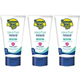 Banana Boat Simply Protect Faces Sunscreen Lotion for Sensitive Skin, SPF 50+, 3 Fl Oz, Pack of 3