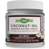 NATURES WAY OIL COCONUT, 16 Ounce