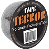 Tape Terror Pro-Grade Tape Single Roll - Heavy Duty Adhesive, Commercial, Moving, Box, and Packing Sealing Tape, 2.36 Mil Thi