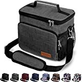 Insulated Lunch Bag for Women/Men - Reusable Lunch Box for Office Work School Picnic Beach - Leakproof Cooler Tote Bag Freeza