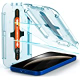 Spigen AGL01801 Tempered Glass Screen Protector [Glas.tR EZ Fit] Designed for iPhone 12 (2020) / iPhone 12 Pro (2020) [Case F