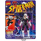 Spider-Man Hasbro Marvel Legends Series 6-inch Collectible Marvel's Black Cat Action Figure Toy Retro Collection