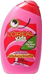 L'Oreal Kids Strawberry Shampoo Smoothie, 265ml