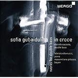 グバイドゥーリナ : 作品集 (Sofia Gubaidulina : in croce ~ works for double bass / Dabueke Roccato (double bass), Fabrizio Ottaviucci (pi