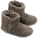 Janday ルームブーツ あったか ルームシューズ 北欧 もこもこ 暖か 足冷え対策 洗濯可 男女兼用 滑り止め 室内履き用 静音 (L(25-26.5cm))