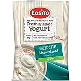 EasiYo Greek-Style Unsweetened Yogurt Base Low Fat, 170G