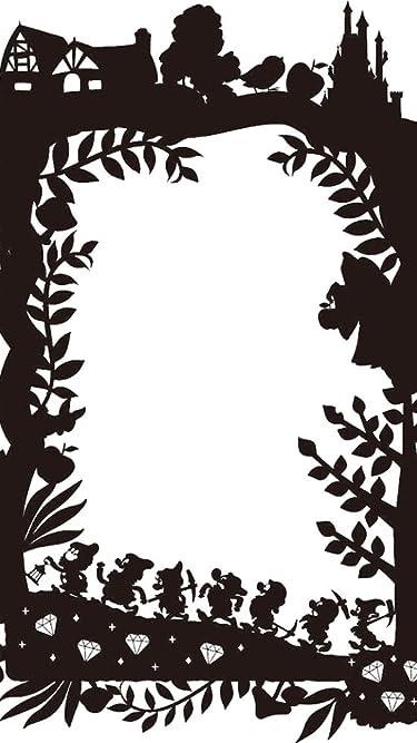 ディズニー  iPhone/Androidスマホ壁紙(540×960)-1 - 白雪姫 影絵
