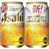 【新ジャンル/第3のビール】クリアアサヒ [ 350ml×24本 ]