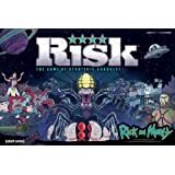 RISK Rick and Morty Risk Game   Based on the popular Adult Swim TV Show Rick & Morty   Official Rick and Morty Merchandise  