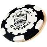 ポーカーチップ・マーカー【ブラック】 St. Andrews