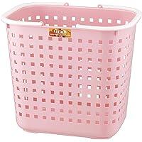 アスベル ランドリーバスケットL 「グレディー」 ピンク