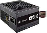 Corsair CV550 PC電源ユニット 550W 80PLUS BRONZE認定 小型 CP-9020210-JP PS909