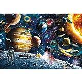 ジグソーパズル 1000ピース 太陽系の惑星 宇宙ファンタジー 完成サイズ70×50cm 推奨年齢14歳以上