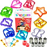 29pc Sandwich Cutter Set for Kids of All Ages - Turn Vegetables, Fruits, Cheese, and Cookie Into Fun Bites - Add to Bento Box