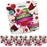 Batlow Happles Crispy Apple Slices - Freeze Dried & Coated in Raspberry Powder – Gluten Free, Lactose Free & Low Fat Snack (1