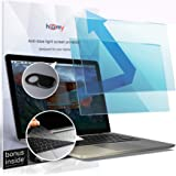 Homy Compatible Screen Protector [2-Pack] for MacBook Pro 15 inch 2016/2017/2018/2019 Touch Bar + Keyboard Cover Ultra-Thin T