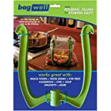 Bag Well Sealable Bag Holder for 1 Gallon Storage Bags