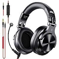 OneOdio ヘッドセット テレワーク用 マイク付き PC用 ヘッドホン 有線 DJ用 モニターヘッドホン 会議通話…