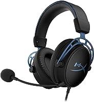 キングストン Kingston ゲーミング ヘッドセット HyperX Cloud Alpha S HX-HSCAS-BL/WW ブルー 7.1サラウンドサウンド 低音調節スライダー
