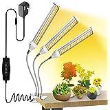 Wolezek 150W LED Grow Light White, Sunlike 315 LED Full Spectrum Grow Lamp, 360 Degree Flexible Gooseneck Plant Light for Ind