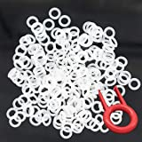 200pcs Rubber O-Ring Keyboard Switch Dampeners Make Your Mechanical Keyboard Quieter with Keycap Remover Suitable for Cherry