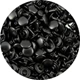 Springfield Leather Company's Black Medium Double Cap Rivets 100pk