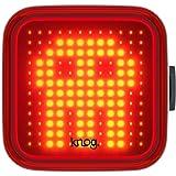 【日本正規品】 KNOG (ノグ) 自転車 ライト ブラインダーシリーズ [BLINDER] リアライト 100ルーメン 防水 USB充電式 軽量 スリム設計 ユニークな絵柄デザイン |2年保証|