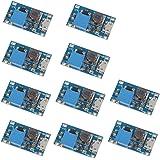 VKLSVAN 10個 2A DC-DC ブーストステップアップ 転換モジュール Micro USB 2V-24V to 5V-28V 9V 12V 24V MT3608コンバータ
