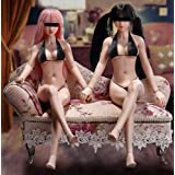 """Phicen 12"""" Female Seamless Action Figures-Silicone Body, New Edition Asia Body-1/6 Scale Super Flexible Female Figure Dolls f"""