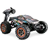 Hosim Large Size 1:10 Scale High Speed 46km/h 4WD 2.4Ghz Remote Control Truck 9125, Radio Controlled Off-Road RC Car Electron
