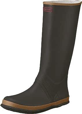 [アキレス] レインブーツ 長靴 軽量 折りたたみ可能 収納バック付 フィットパッカ ILB 0760 ブラウン 22.5 cm