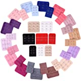 eBoot 36 Pieces Bra Extenders Brassiere Extension Hooks 2 and 3 Hooks 18 Color
